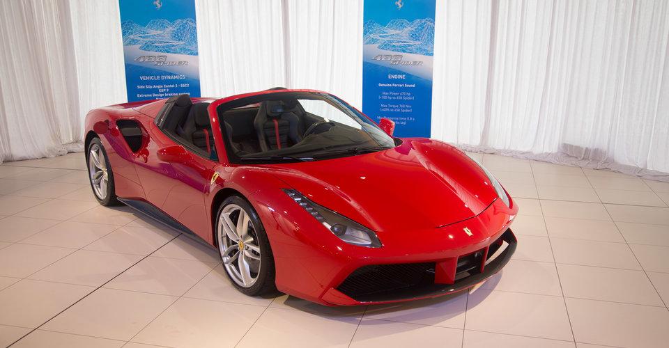 2016 Ferrari 488 Spider Revealed In Australia Caradvice