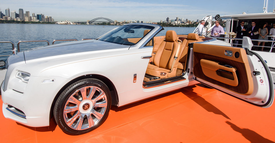 Rolls-Royce Dawn debuts in Australia with $749,000 price tag   CarAdvice