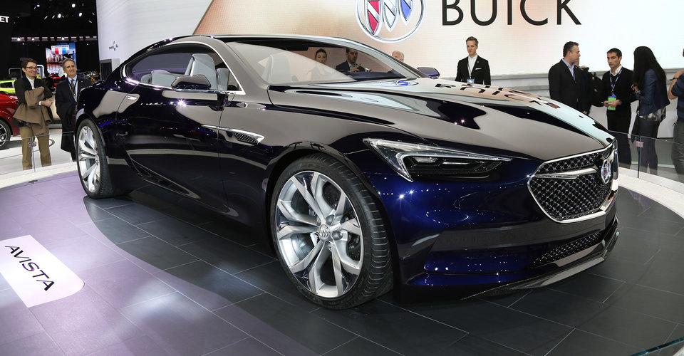 Vista Auto Sales >> Buick Avista concept could preview new Holden Monaro | CarAdvice