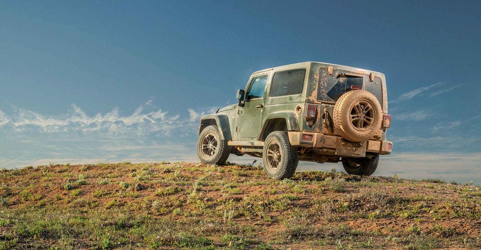 Jeep 75th Anniversary Flashback