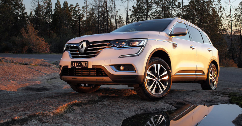 Renault koleos towing capacity