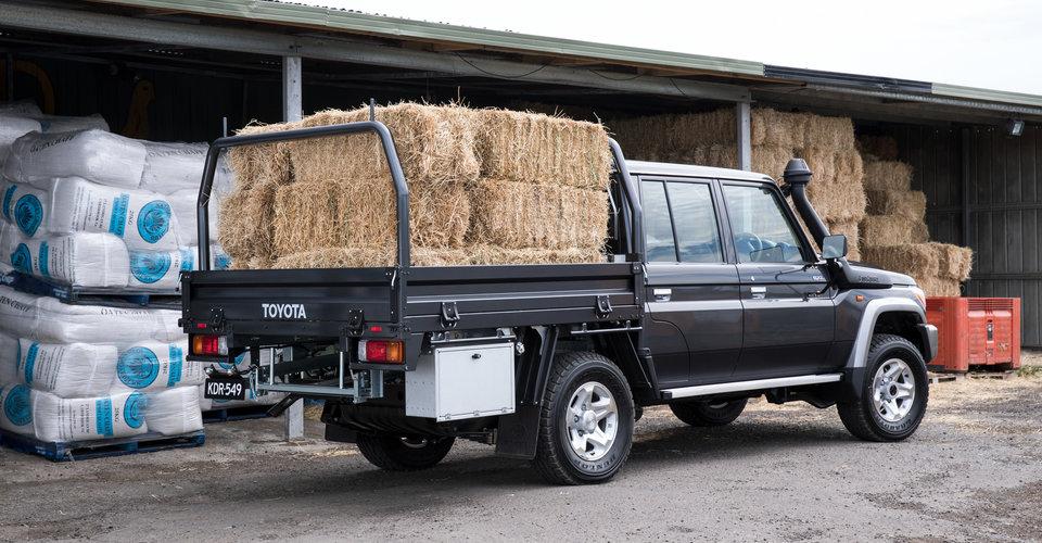 Xe bán tải LandCruiser có tính năng chở đồ với khối lượng lớn