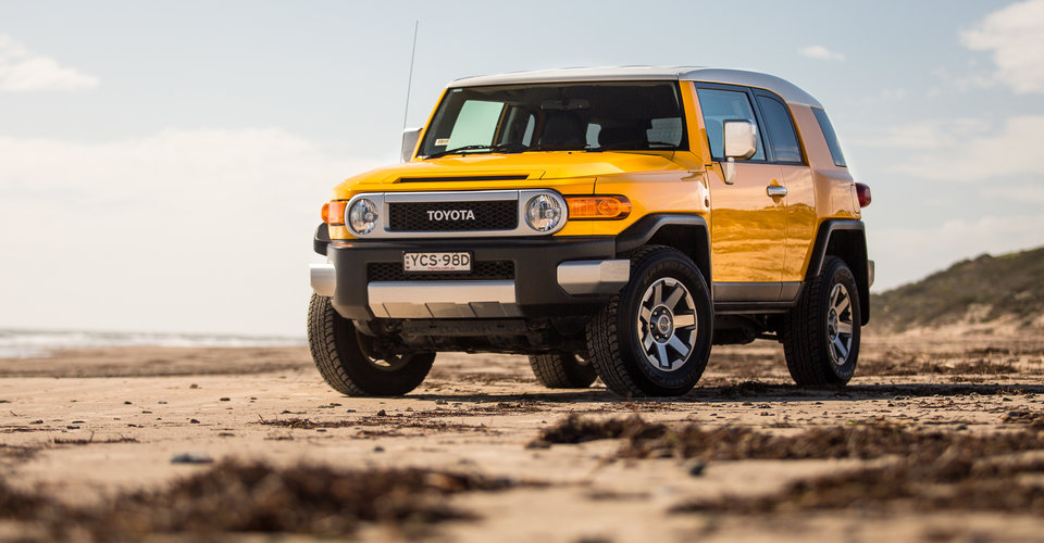2016 Toyota FJ Cruiser review - photos | CarAdvice