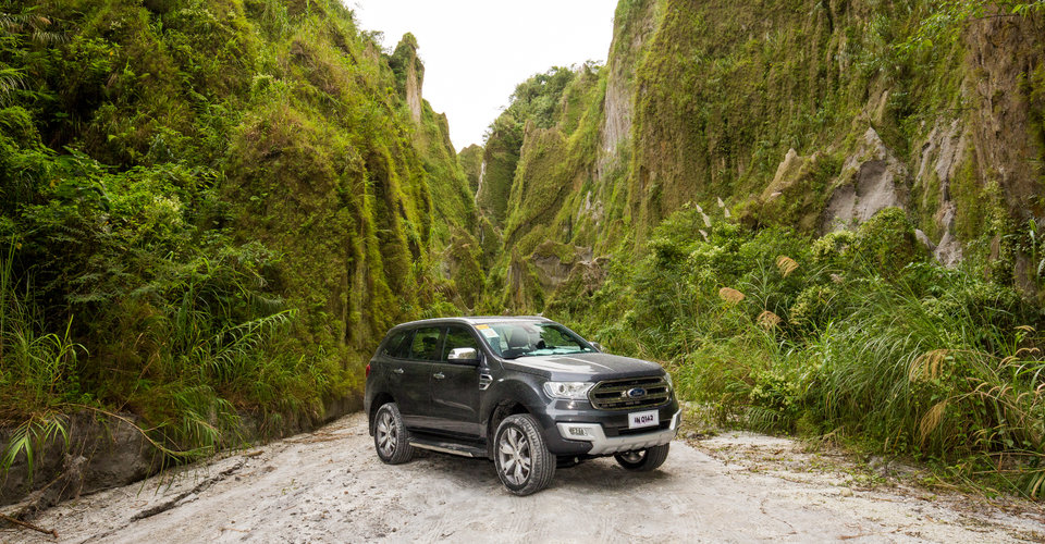Road Tripping the Philippines: Tackling Manila's peak hour, a US Air Force base and an active volcano in four Ford SUVs