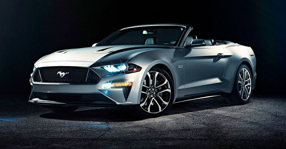2018 Ford Mustang Convertible revealed | CarAdvice