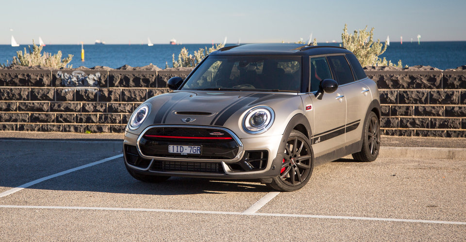 2017 mini jcw clubman review caradvice. Black Bedroom Furniture Sets. Home Design Ideas