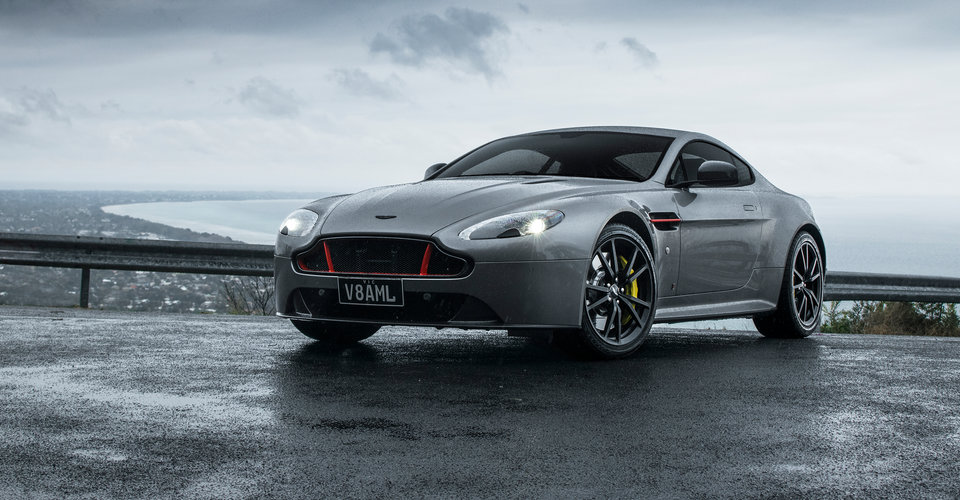 2017 Aston Martin V8 Vantage Red Bull Racing Edition Review