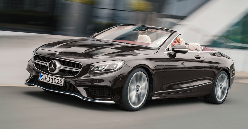 2018 Mercedes-Benz S-Class Coupe, Cabriolet revealed: Here in April ...