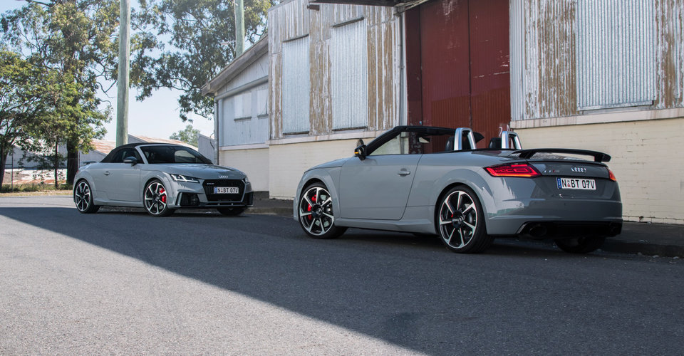 Audi TT RS Roadster Review CarAdvice - 2018 audi tt