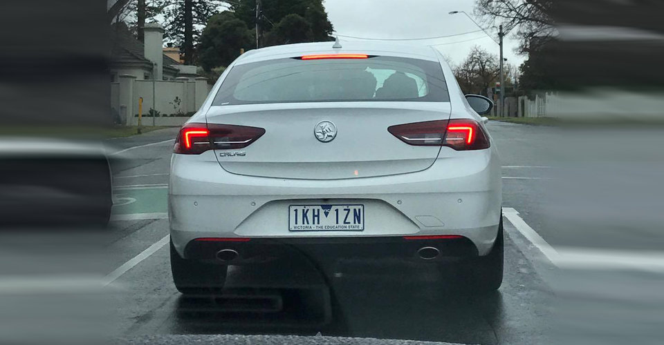 Holden commodore name here to stay 39 calais 39 spotted for Garage bmw calais