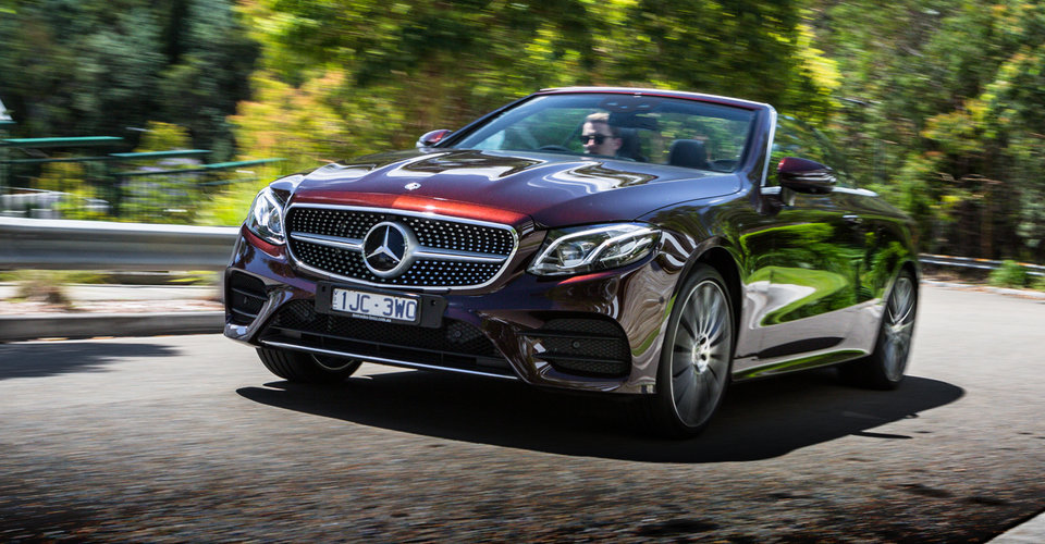 2018 mercedes benz e300 cabriolet review caradvice for Mercedes benz e300 price