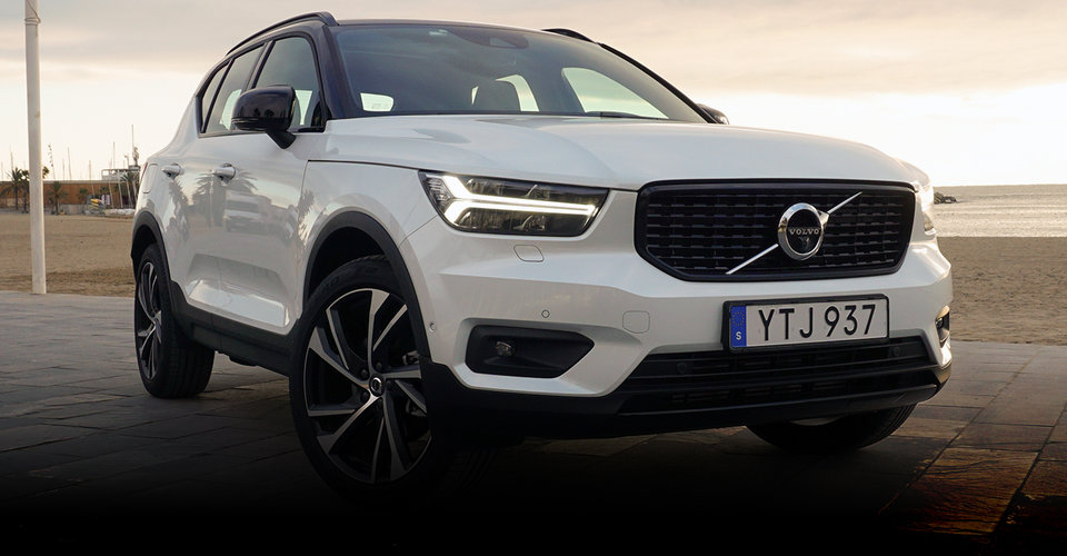 2018 volvo xc40 review caradvice. Black Bedroom Furniture Sets. Home Design Ideas
