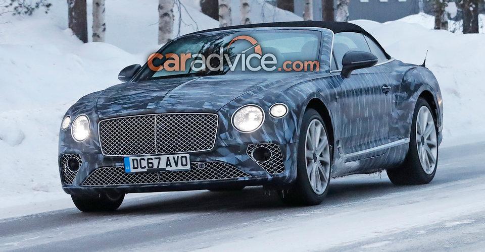 2018 Bentley Continental GTC Spied