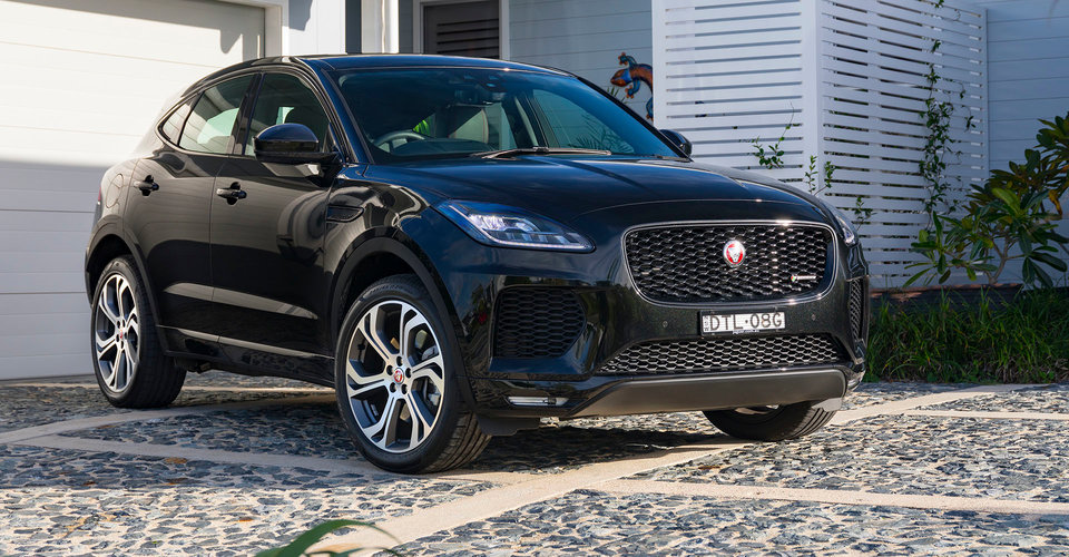 2018 jaguar e pace pricing and specs caradvice. Black Bedroom Furniture Sets. Home Design Ideas