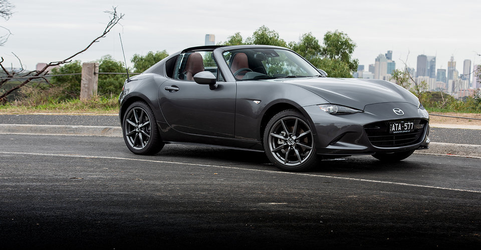 Mx 5 Rf Price >> 2018 Mazda MX-5 RF Black Roof automatic review | CarAdvice