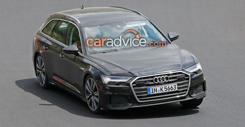 2019 audi s6 avant spied caradvice. Black Bedroom Furniture Sets. Home Design Ideas