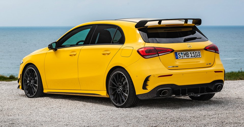2019 mercedes amg a35 a near match for current a45 performance caradvice. Black Bedroom Furniture Sets. Home Design Ideas