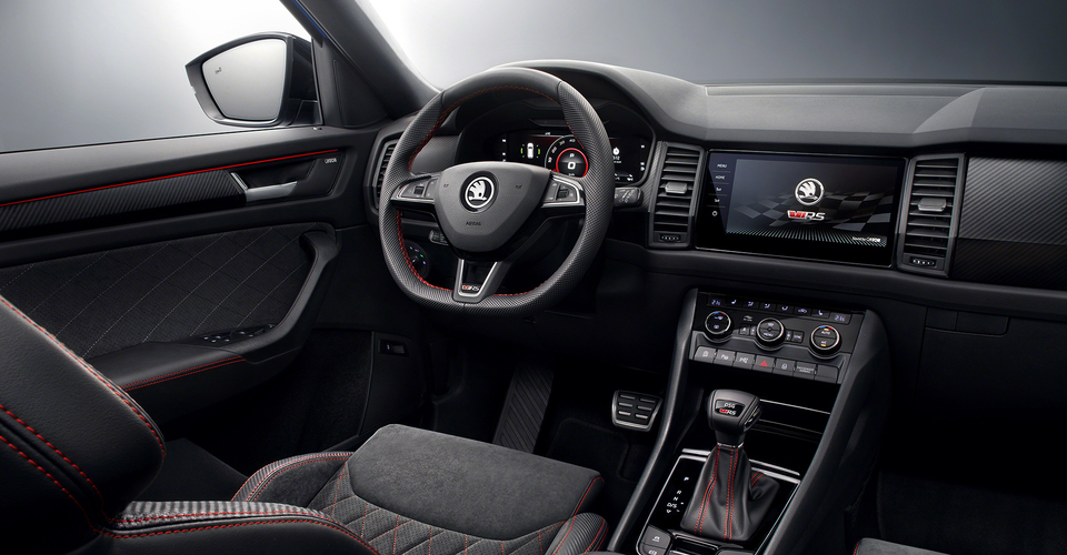 Skoda Kodiaq Rs Interior Revealed Caradvice