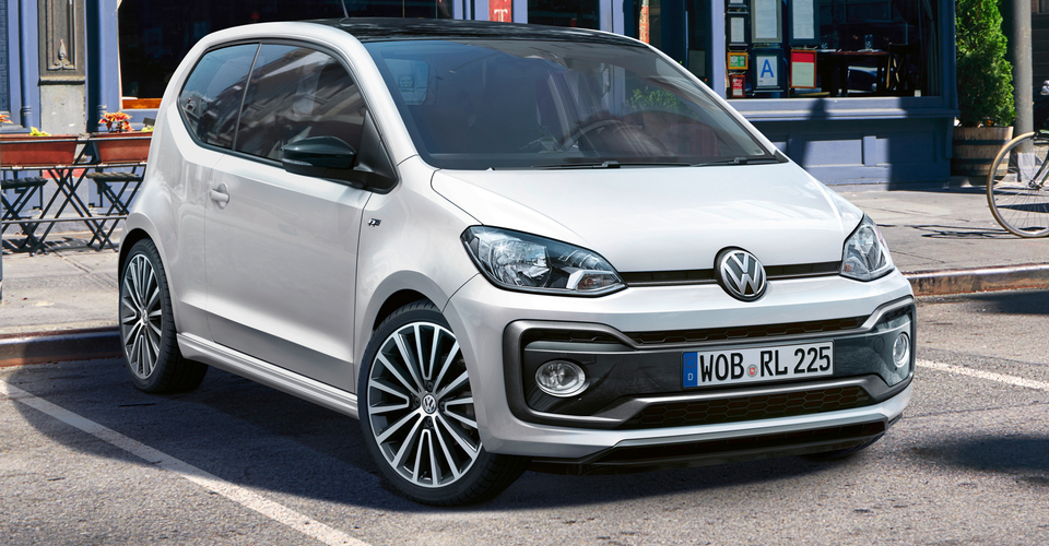 Volkswagen up r line revealed for europe caradvice for Volkswagen europe garage