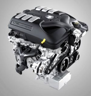 Holden VE Commodore Engines  Photos