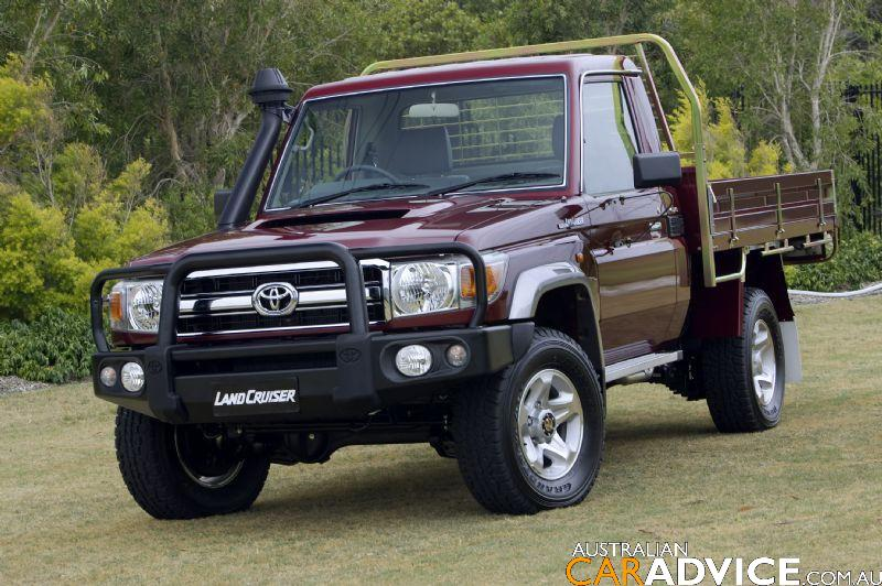 Toyota LandCruiser 70 Series Bullbar - photos | CarAdvice