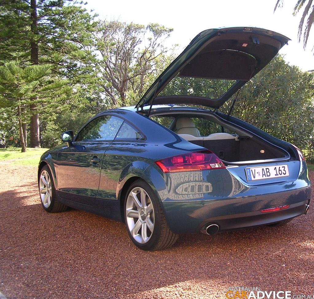 New Toyota Hilux >> 2007 Audi TT Coupe 3.2 Quattro S Tronic Road Test - photos | CarAdvice