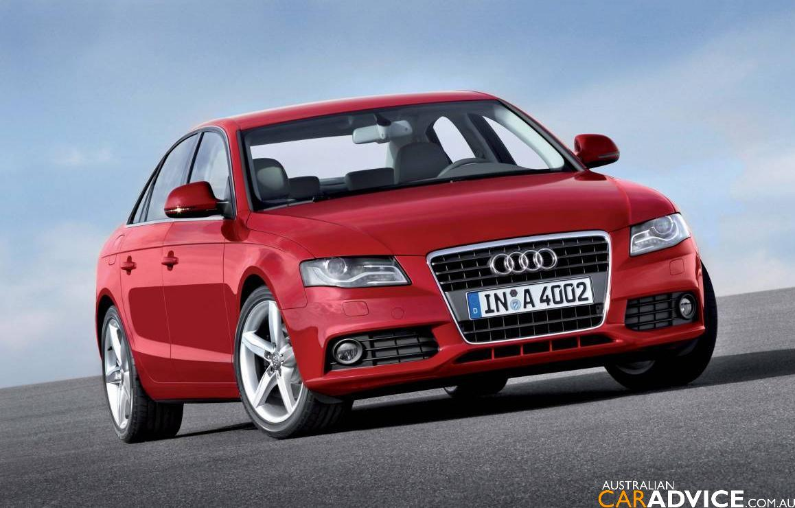 2008 Audi A4 Revealed - photos | CarAdvice