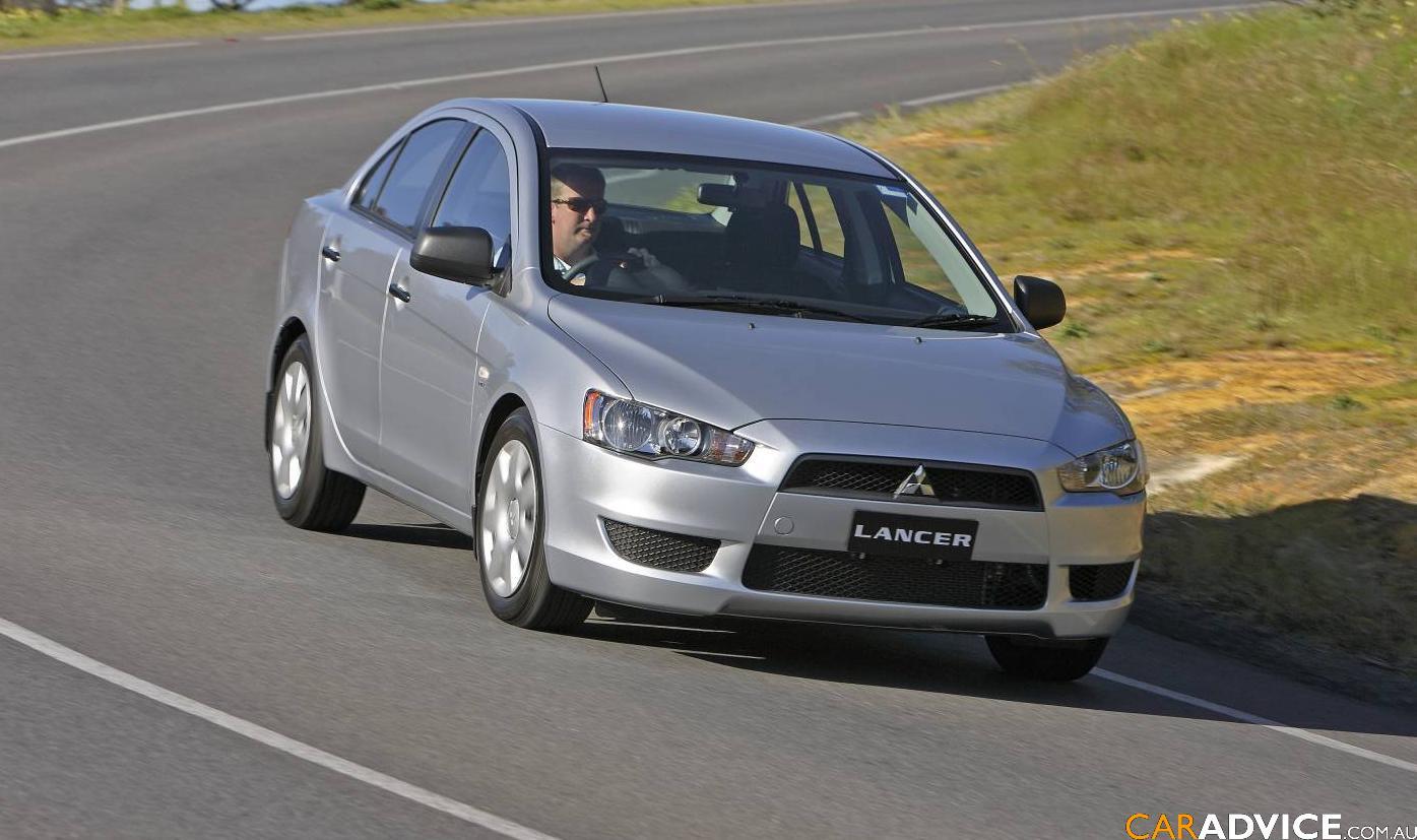 2008 Mitsubishi Lancer Es Photos Caradvice