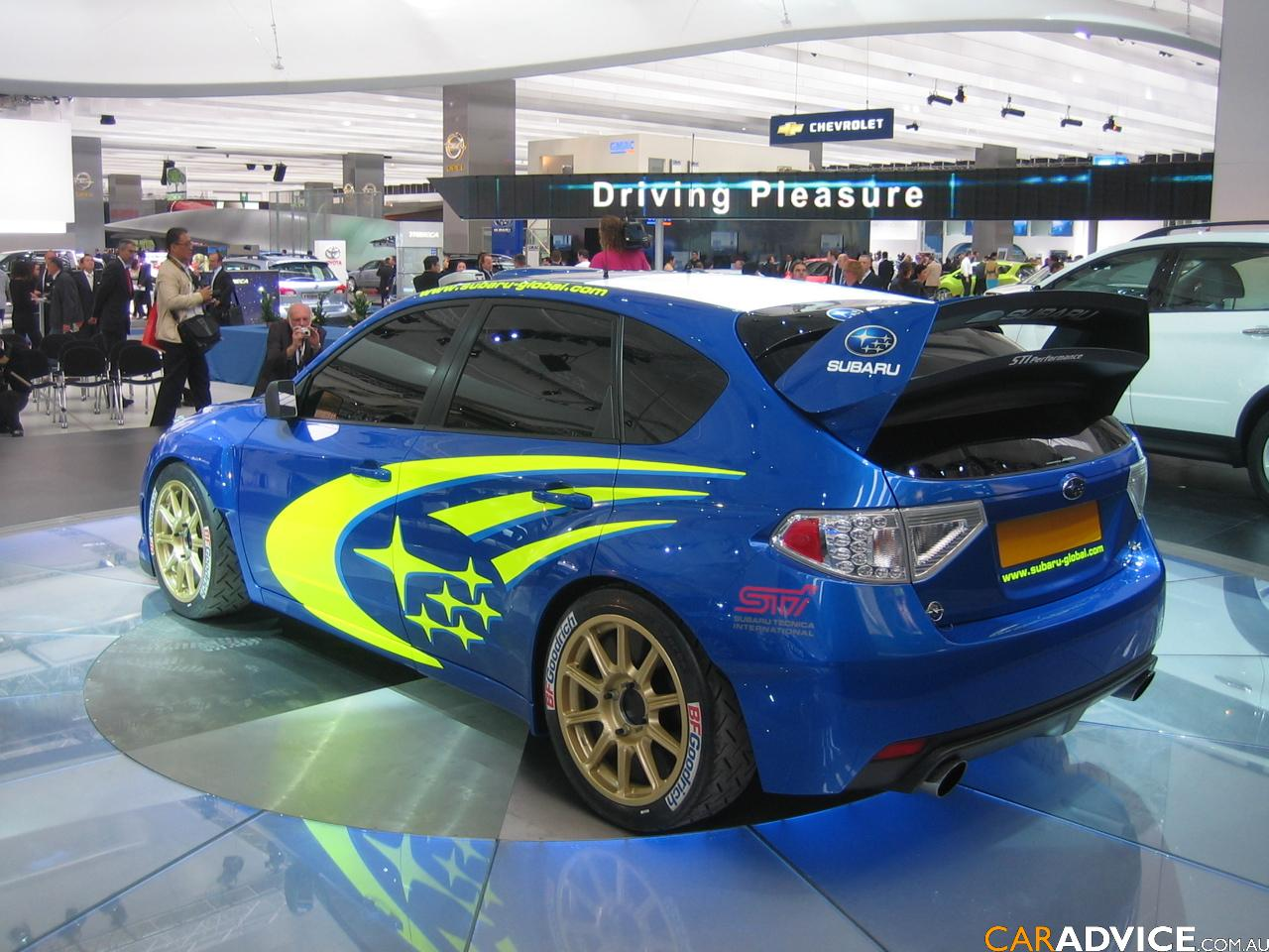 Subaru impreza wrc concept frankfurt motor show photos for Garage ben autos