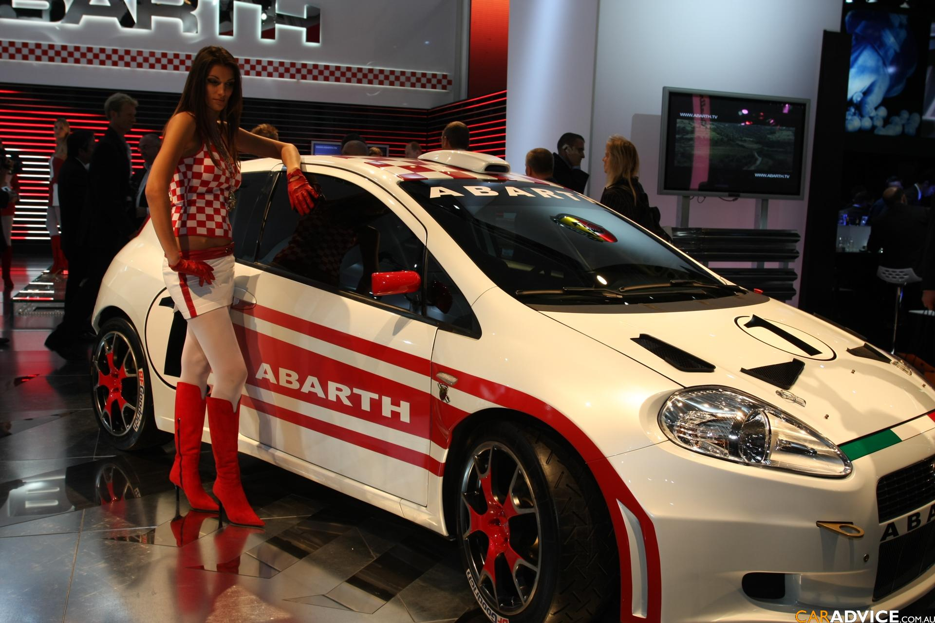fiat grande punto abarth frankfurt motor show photos. Black Bedroom Furniture Sets. Home Design Ideas