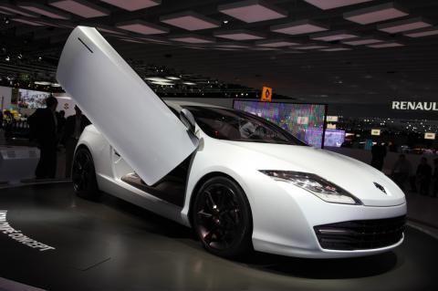 Renault Laguna Coupe Concept Frankfurt Motor Show Photos