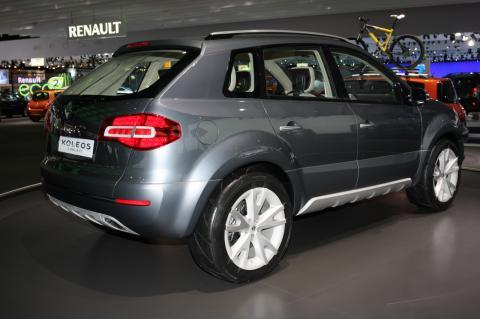 Renault Koleos Concept Frankfurt Motor Show Photos