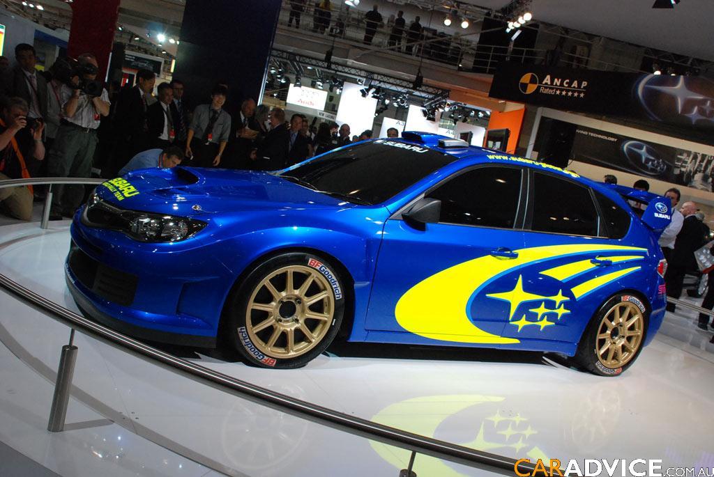 2008 Subaru Impreza Wrc Car Sydney Motor Show Photos