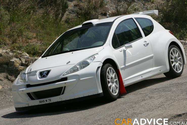 2007 peugeot 207 gti review photos caradvice. Black Bedroom Furniture Sets. Home Design Ideas