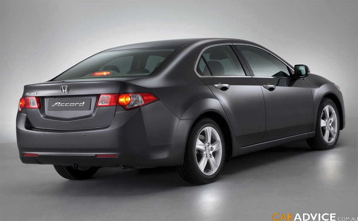2009 Honda Accord Euro Revealed Photos