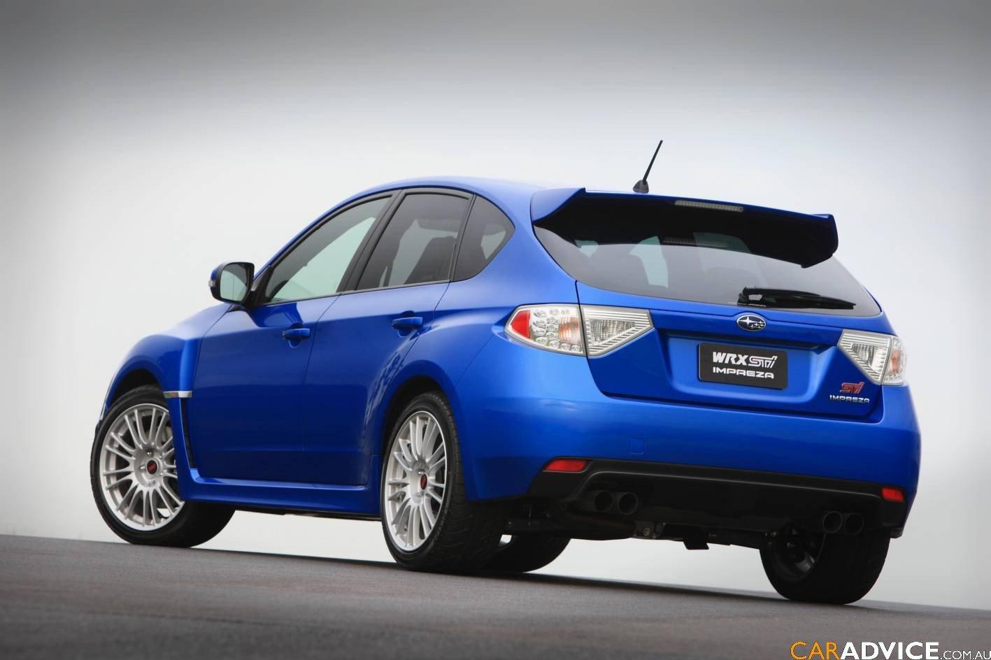 Subaru Older Models >> 2008 Subaru Impreza WRX STi - photos | CarAdvice