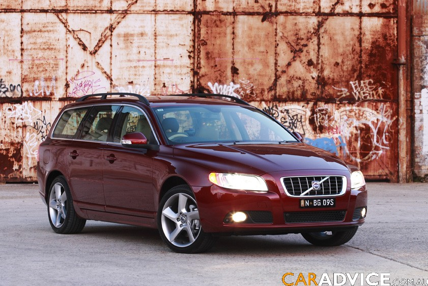 2008 Volvo V70 T6 first steer - photos | CarAdvice