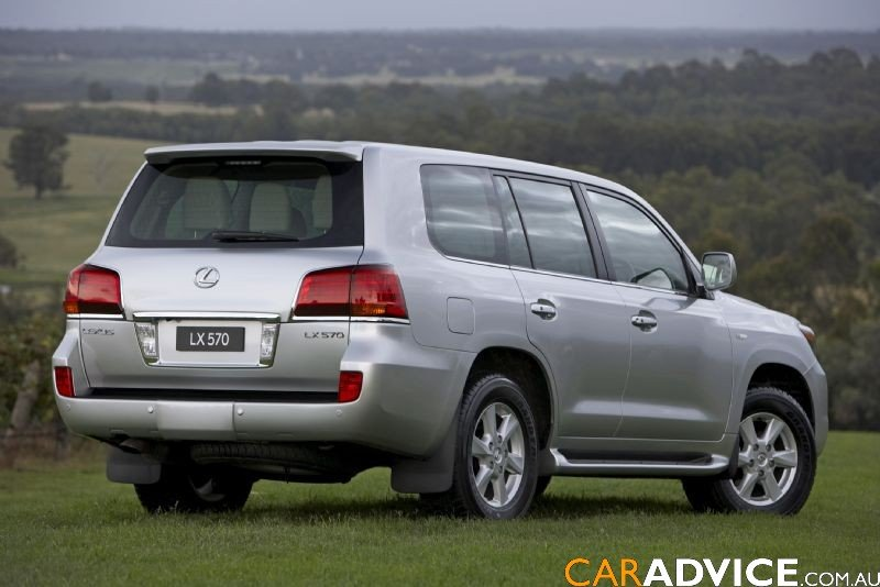 Mercedes Suv Models >> 2008 Lexus LX 570 SUV - Photos