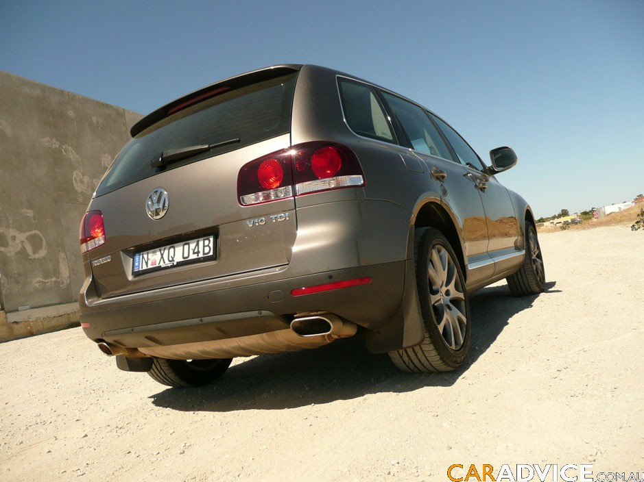volkswagen touareg  tdi offroad review caradvice