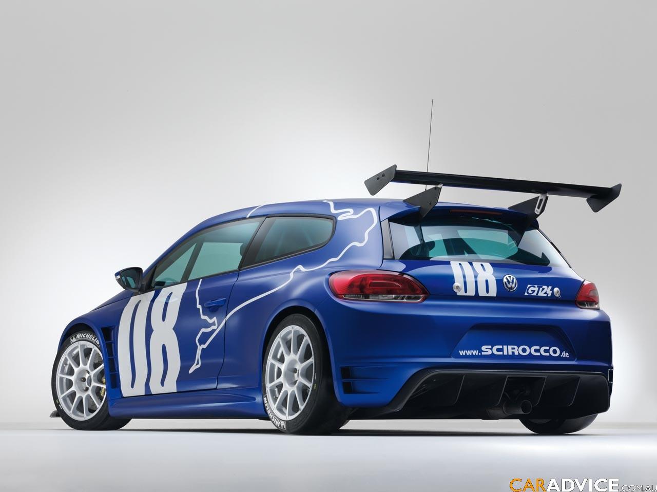 Volkswagen Scirocco GT24 unveiled - Photos