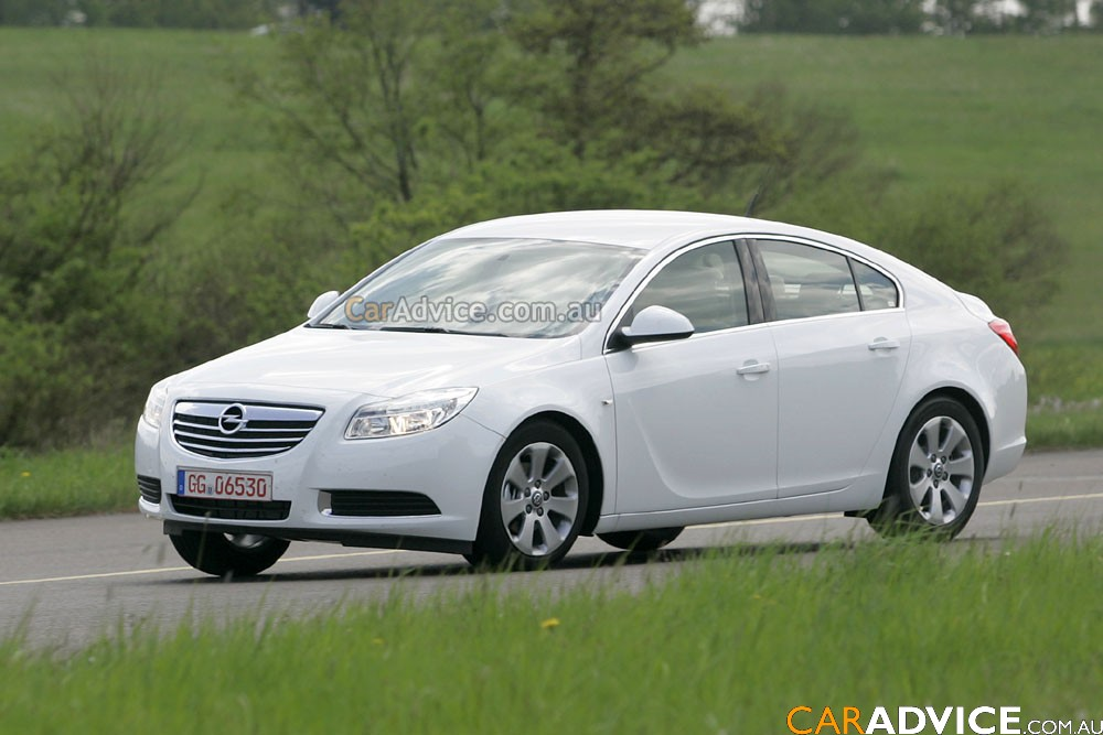 2009 Opel Insignia Fastback Spied Photos