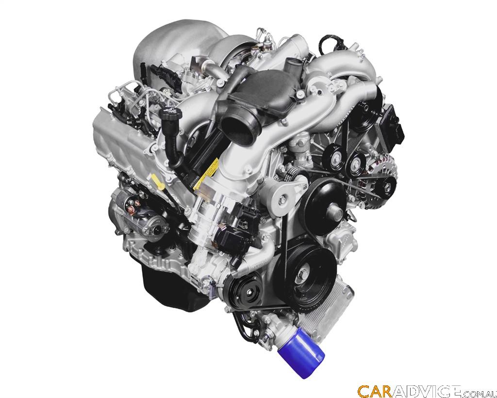 GM 4.5L V8 Duramax turbo-diesel details - Photos (1 of 2)