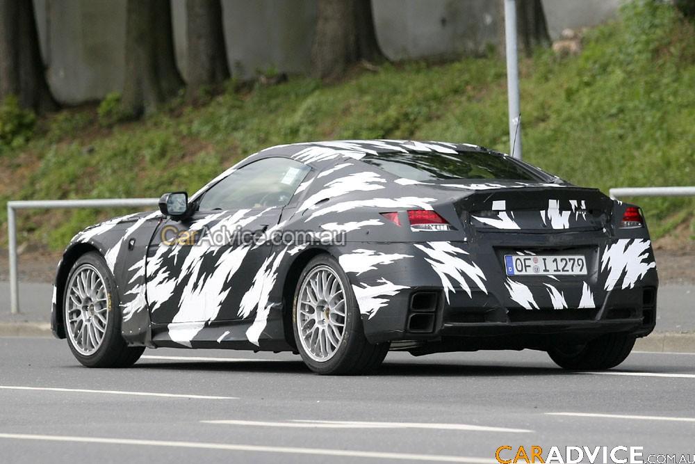 2009 Honda NSX spy photos - Photos (1 of 10)