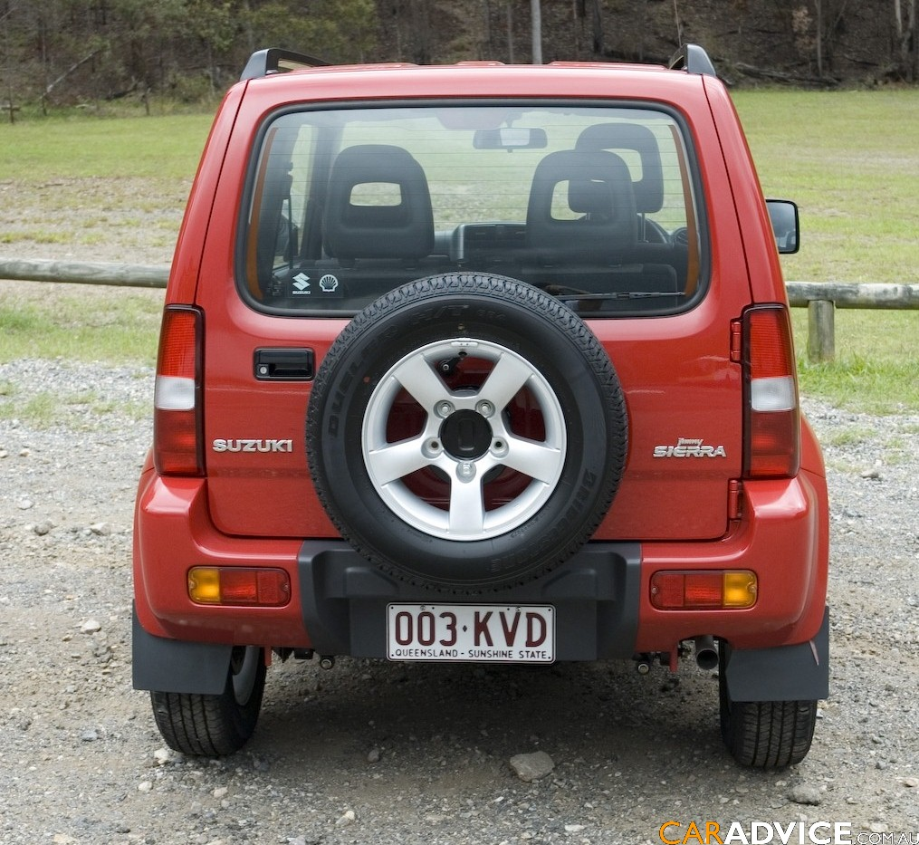 2008 suzuki jimny sierra review photos caradvice. Black Bedroom Furniture Sets. Home Design Ideas