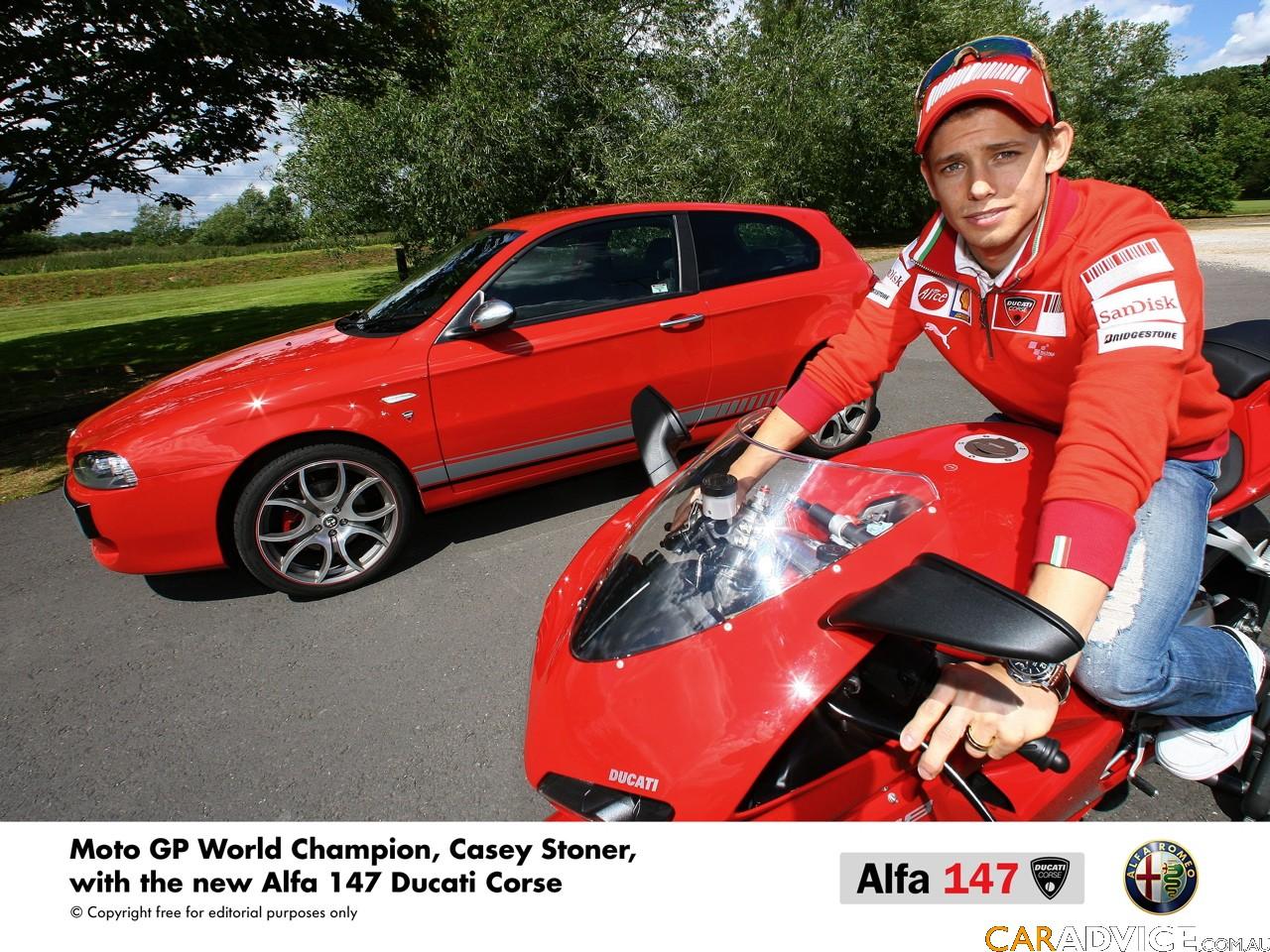 Alfa Romeo 147 Ducati Corse Photos Caradvice