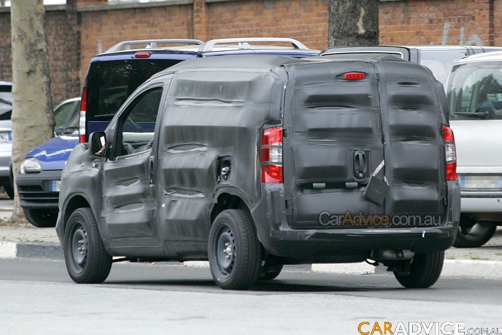 2010 Fiat Doblo spied - photos   CarAdvice