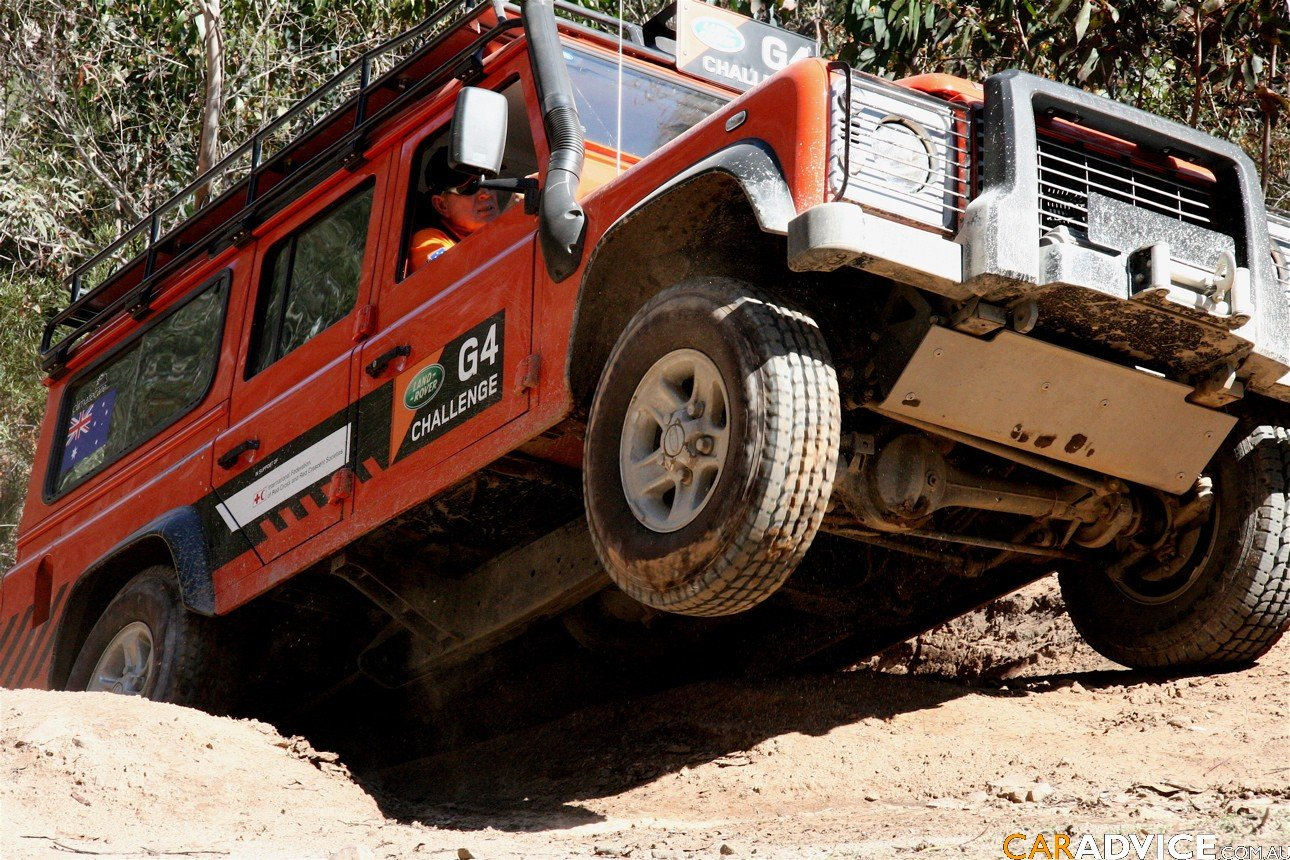 Land Rover G4 Challenge National Selections Photos