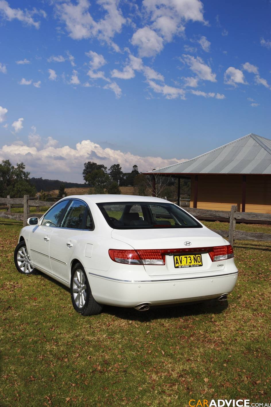 2009 Hyundai Grandeur Review - photos | CarAdvice