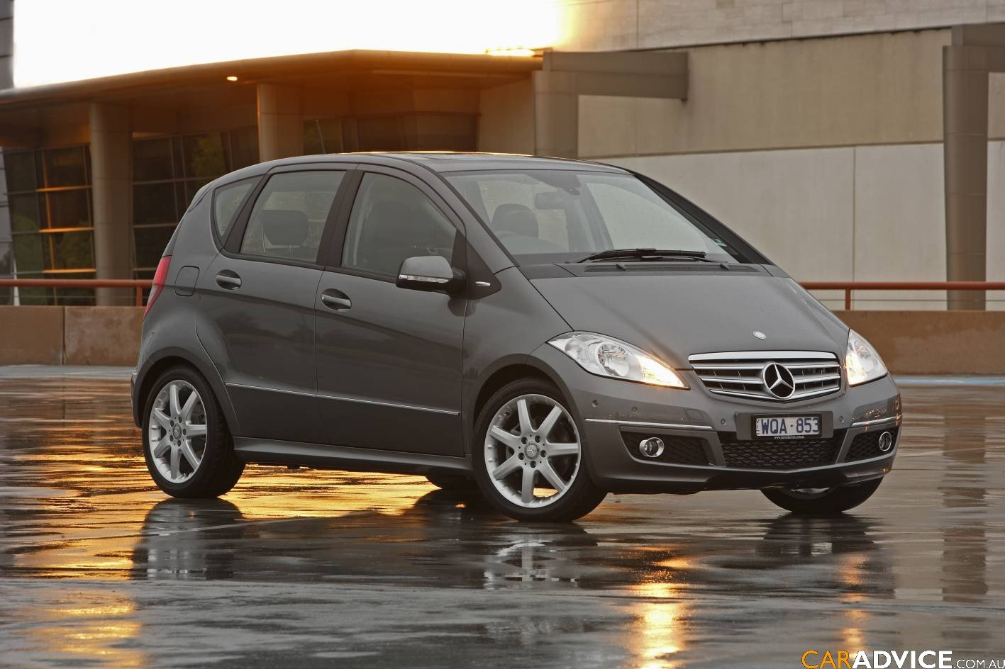 2009 mercedes benz a class range photos caradvice. Black Bedroom Furniture Sets. Home Design Ideas