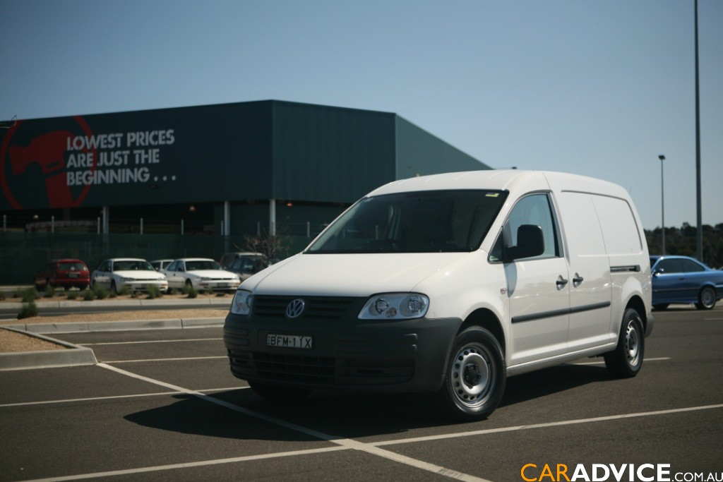 2008 volkswagen caddy maxi van review photos caradvice. Black Bedroom Furniture Sets. Home Design Ideas